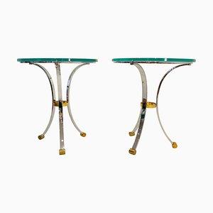 Gueridon Tables by Maison Jansen, Set of 2