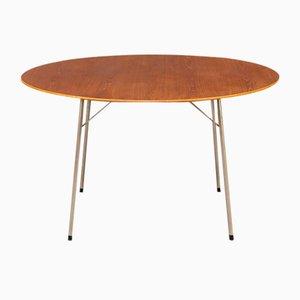 Model 3600 Dining Table by Arne Jacobsen for Fritz Hansen, 1950s