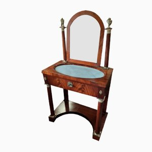 Empire Dressing Table in Flame Mahogany
