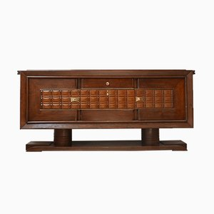 Large French Art Deco Credenza or Sideboard