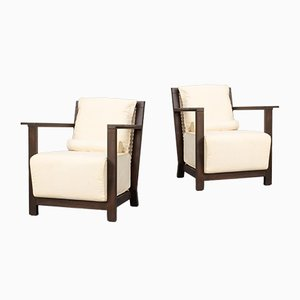 Otto 111 Armchairs by Paola Navone for Gervasoni, 1990s, Set of 2