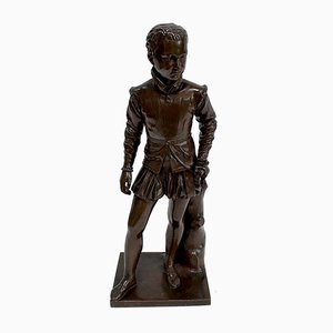 Bronze Sculpture After F-J. Bosio, Henry IV as a Child, 19th Century