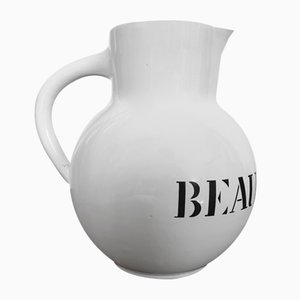Earthenware Beaujolais Pitcher from Molin, Charolles