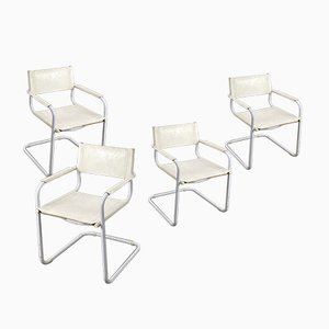 Cantilever Chairs by Matteo Grassi, Set of 4