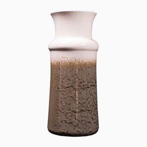 Vintage German Ceramic Lava Vase, 1960s