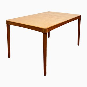 Mid-Century Danish Extendable Teak Dining Table by H. W. Klein for Bramin, 1950s
