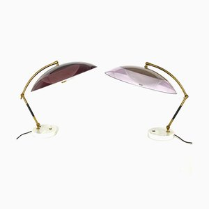 Italian Model Orleans Table Lamps from Stilux Milano, 1955, Set of 2