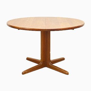 Mid-Century Modern Extendable Teak Dining Table, Denmark, 1960s