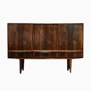 Mid-Century Danish Rosewood Sideboard by E.W. Bach for Sejling Skabe, 1960s