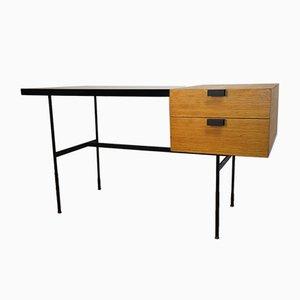Vintage CM141 Desk by Pierre Paulin for Thonet, 1950s