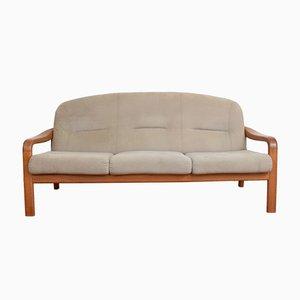 Mid-Century Danish Teak Sofa From Komfort, 1970s