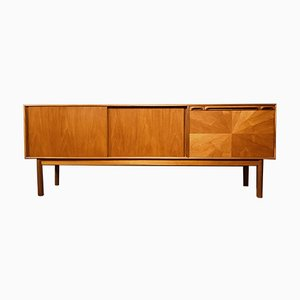 Mid-Century Teak Sideboard by Tom Robertson for A. H. McIntosh, 1960s Sunburst Collection