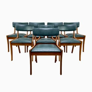 Mid-Century Dining Chairs from Vanson, Set of 8