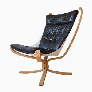 Mid-Century Danish Falcon Chair by Sigurd Ressell for Vatne Møbler, 1970s