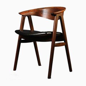 Rosewood Desk Chair by Erik Kirkegaard
