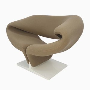 Mid-Century Ribbon Chair by Pierre Paulin for Artifort, 1960s