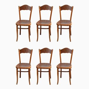 Bistro Chairs from Thonet, Set of 12