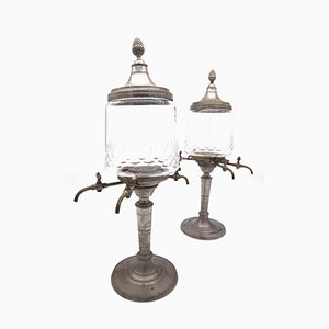 Absinthe Fountains, 1900s, Set of 2