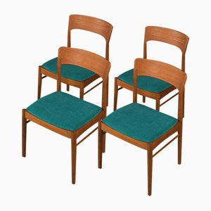 Dining Chairs from K.S. Møbler, 1960s, Set of 4