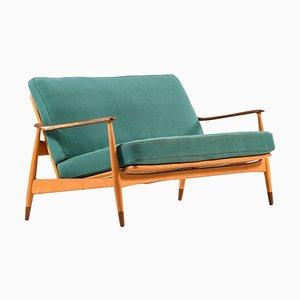 Danish Model 161 Sofa by Arne Vodder for France & Daverkosen