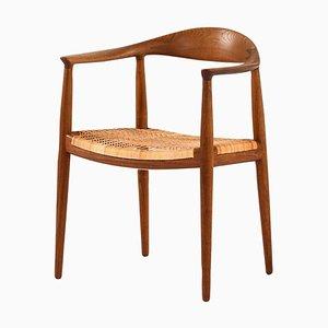Danish Model Jh-501 'The Chair' Armchair by Hans Wegner for Johannes Hansen