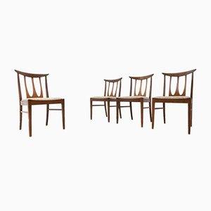 Vintage Teak Brasilia Dining Chairs from G Plan, 1960s, Set of 4