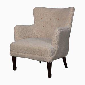 Lambwool Lounge Chair by Frits Henningsen, 1940s