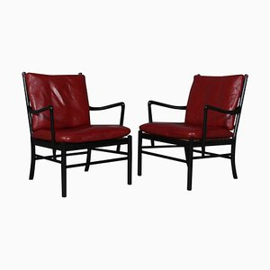 Colonial Chairs from Ole Wanscher, Set of 2