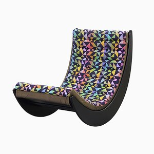 Rocking Chair Relaxer Vintage par Verner Panton pour Rosenthal