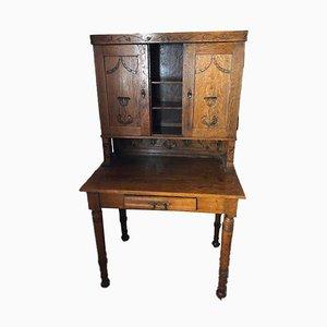 Small Antique Wooden Secretaire