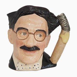 Celebrity Collection Croucho Marks Krug von Royal Doulton