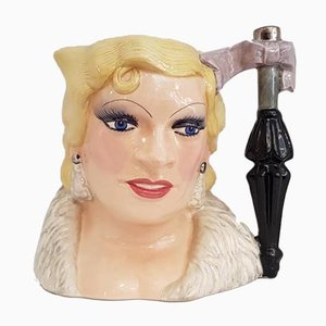 Celebrity Collection Mae West Jug from Royal Doulton
