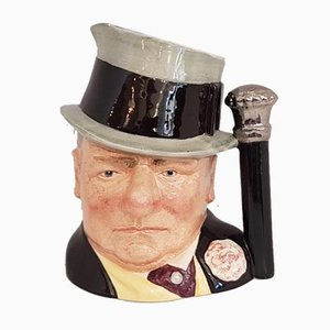 Celebrity Collection W.C. Fields Jug from Royal Doulton