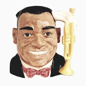 Celebrity Collection Louis Armstrong Jug from Royal Doulton