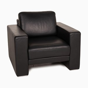 Black Leather Ego Sofa from Rolf Benz