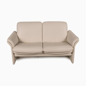 Cream Leather Sofa from Chalet Erpo