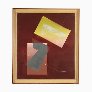 Aldo Pancheri, Mixed Media on Canvas