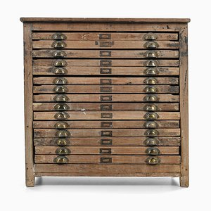 Printer's 15-Drawer Cabinet