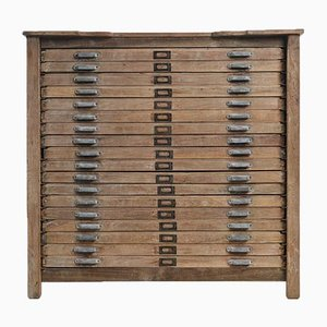 Printer's 18-Drawer Cabinet