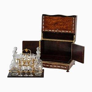 Wooden Liquor Cabinet, 19th Century