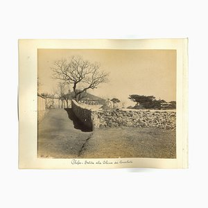 Ancient Views of Chefoo, Vintage Albumen Prints, 1890s