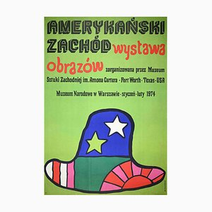 Narodowe Museum in Warsaw, Vintage Poster by Jan Mlodozeniec, 1970