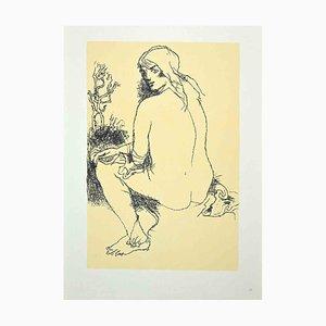 Franco Gentilini - Nude Woman - 1970s