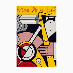 Roy Lichtenstein, Aspen Winter Jazz, 1967, Screenprint