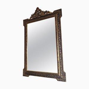 Italian Style Giltwood Framed Wall Mirror, 1950s