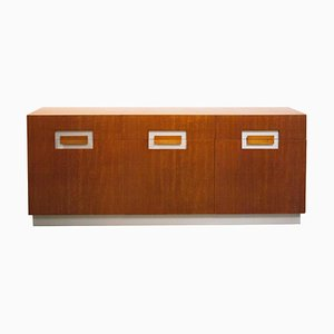 Mid-Century Mahogany Sideboard by by Willy Rizzo, Italy, 1970