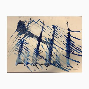 French Abstract Contemporary Art by Jérémie Rebourgeard - Lightness of Time, 2019