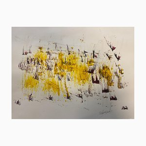 French Abstract Contemporary Art by Jérémie Rebourgeard - Life Perception, 2020