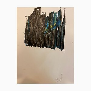 French Abstract Contemporary Art by J. Rebourgeard - Resolution of 2019