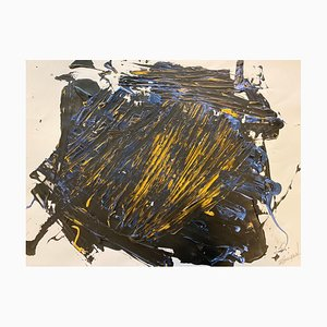 French Abstract Contemporary Art by Jérémie Rebourgeard - The Accion of the Spirit, 2020